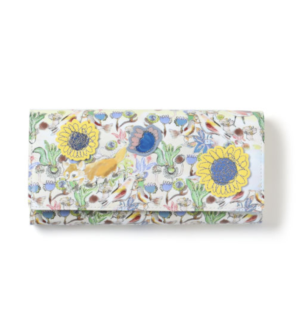 Tsumori Chisato Graphic print long wallet