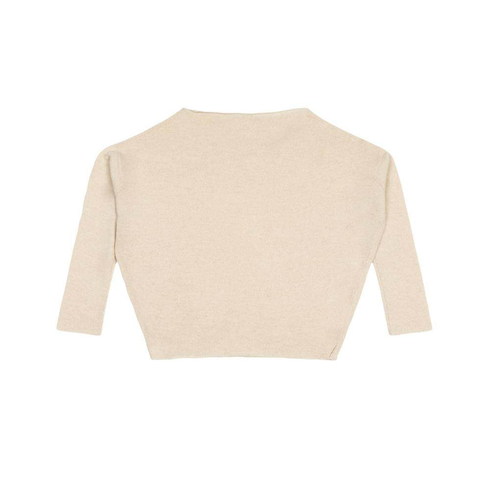 ESTHER Made By ANNALISA BUCCI Cashmere Cream Sweater