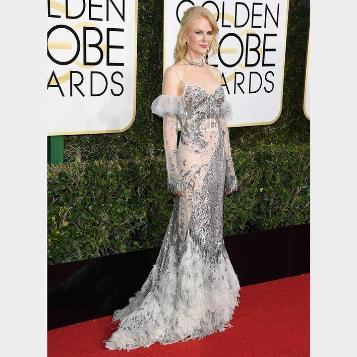 Nicole Kidman BEST DRESSED ON THE GOLDEN GLOBES RED CARPET