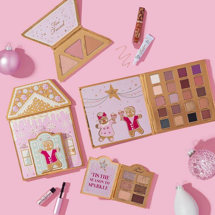 Too faced Christmas Cookie House Party 薑餅人糖果屋派對套裝 價錢 $455