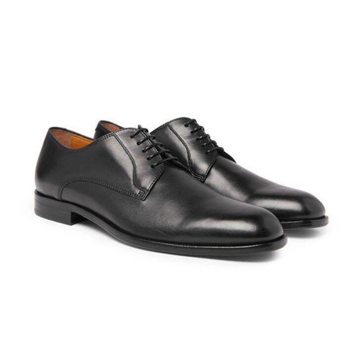 Hugo Boss Cardiff Leather Derby Shoes 男士真皮皮鞋 $1,559 (Mr Porter)